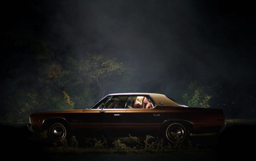 Maika Monroe in David Robert Mitchell 's 'It Follows'