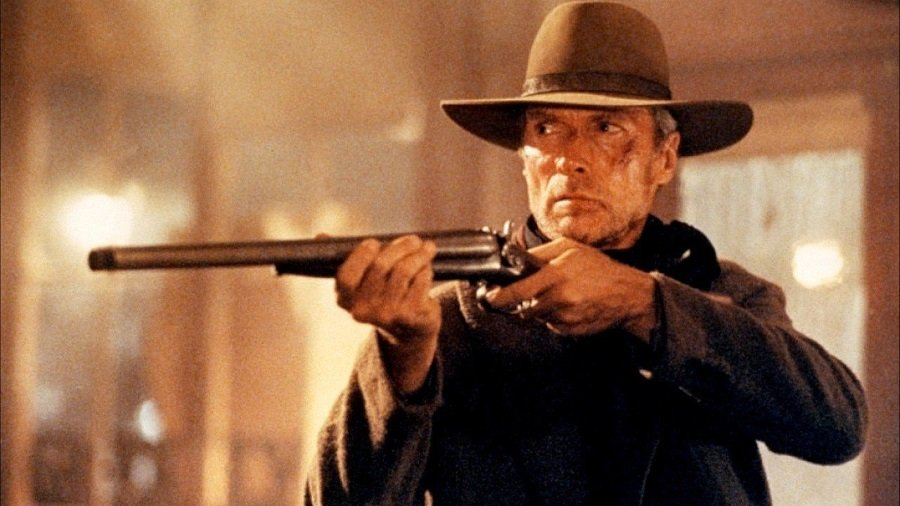 Clint Eastwood in Unforgiven on Amazon Prime