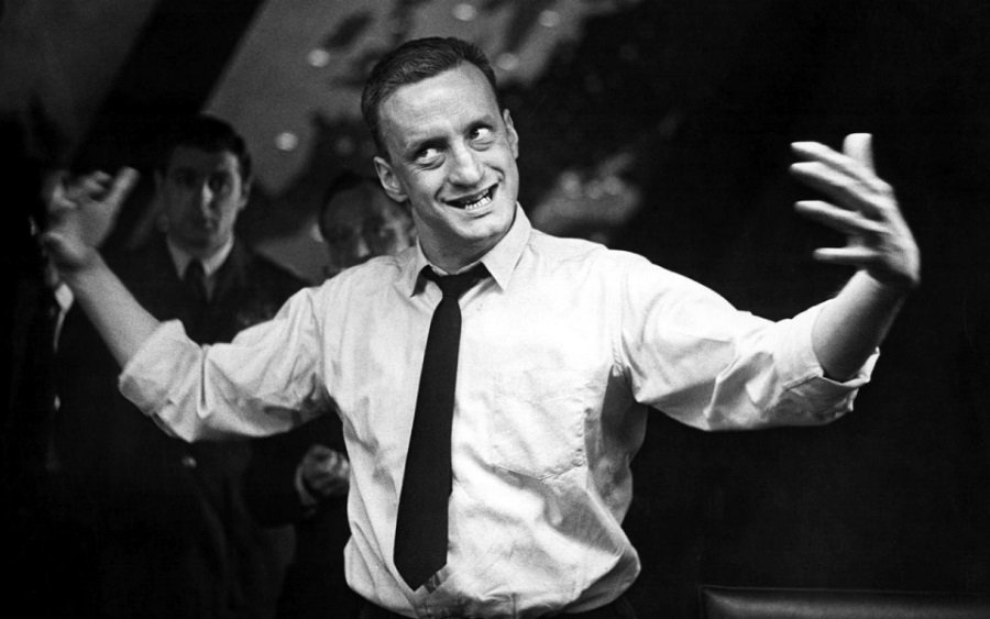 George C. Scott as General Buck Turgidson in Dr. Strangelove