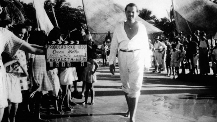 Orson Welles in Brazil for It's All True