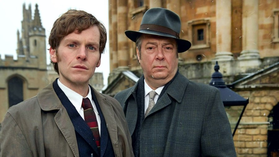Shaun Evan and Roger Allam in the ITV series Endeavour