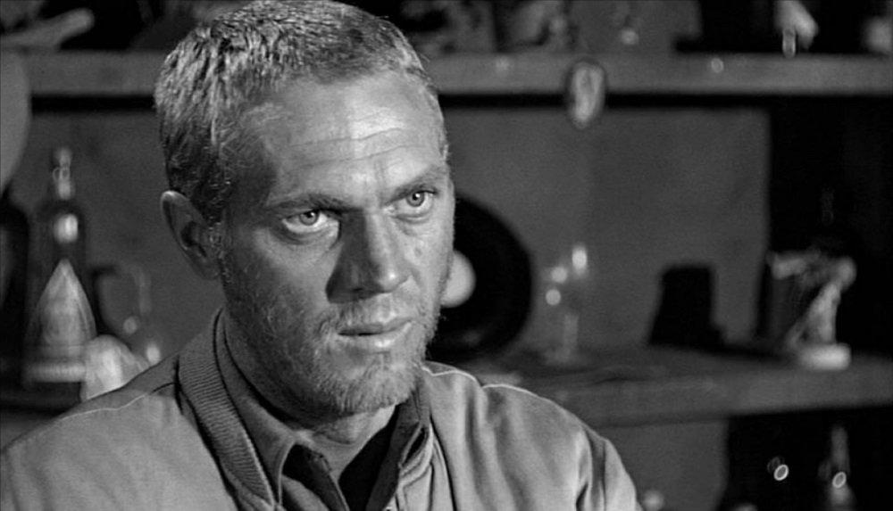 Steve McQueen in Don Siegel's 1962 World War II drama 'Hell is for Heroes'