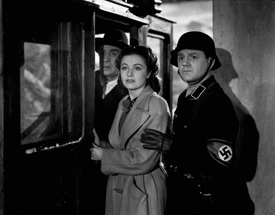 Margaret Lockwood and Naunton Wayne in Carol Reed's Night Train to Munich