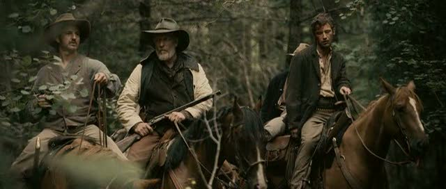 Clancy Brown and William Mapother in JT Petty's 'The Burrowers'