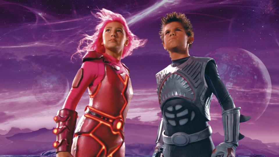 Taylor Dooley and Taylor Lautner are in Robert Rodriguez's 'Shark Boy and Lava Girl'