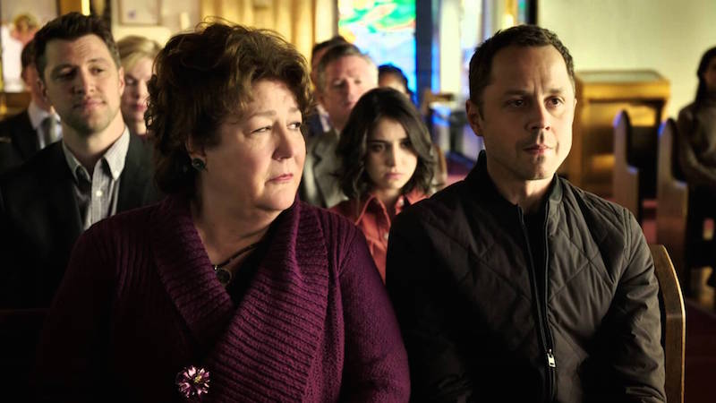 Margo Martindale and Giovanni Ribisi in Sneak Pete on Amazon
