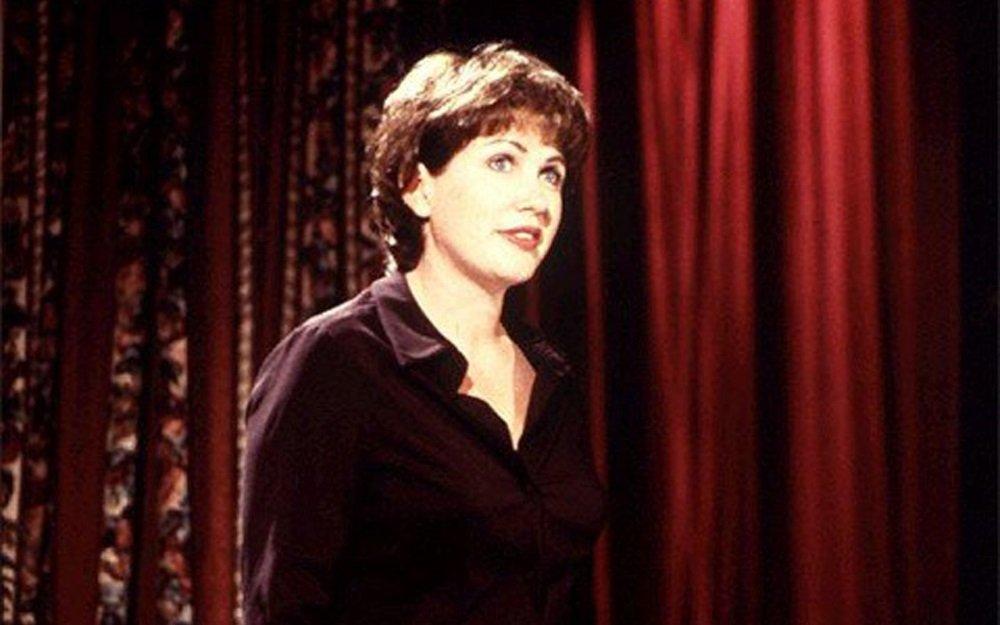 Julia Sweeney in the film of her one woman show 'God Said Ha!'