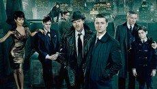 Ben McKenzie as Lt. Jim Gordon and the cast of 'Gotham'
