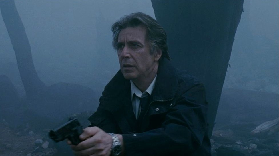 Al Pacino in Christopher Nolan's 'Insomnia' (2002), the American remake of the Norwegian thriller.