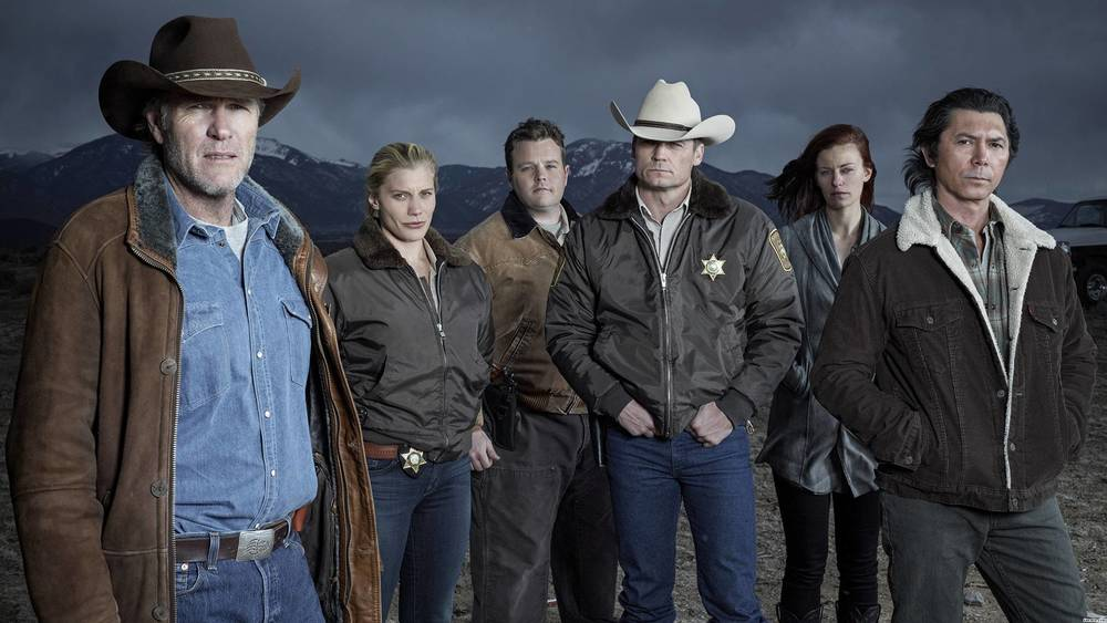 Robert Taylor and the cast of 'Longmire,' now on Netflix
