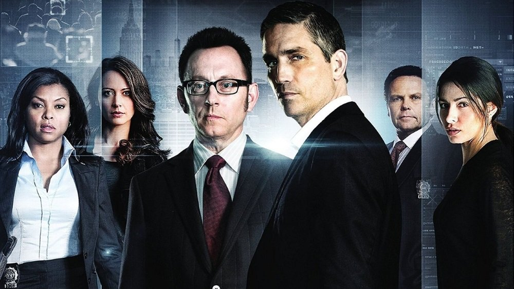 Person of Interest on CBS, with Michael Emerson, Jim Caviezel, Taraji P. Henson. Amu Acker, Kevin Chapman, and Sarah Shahi