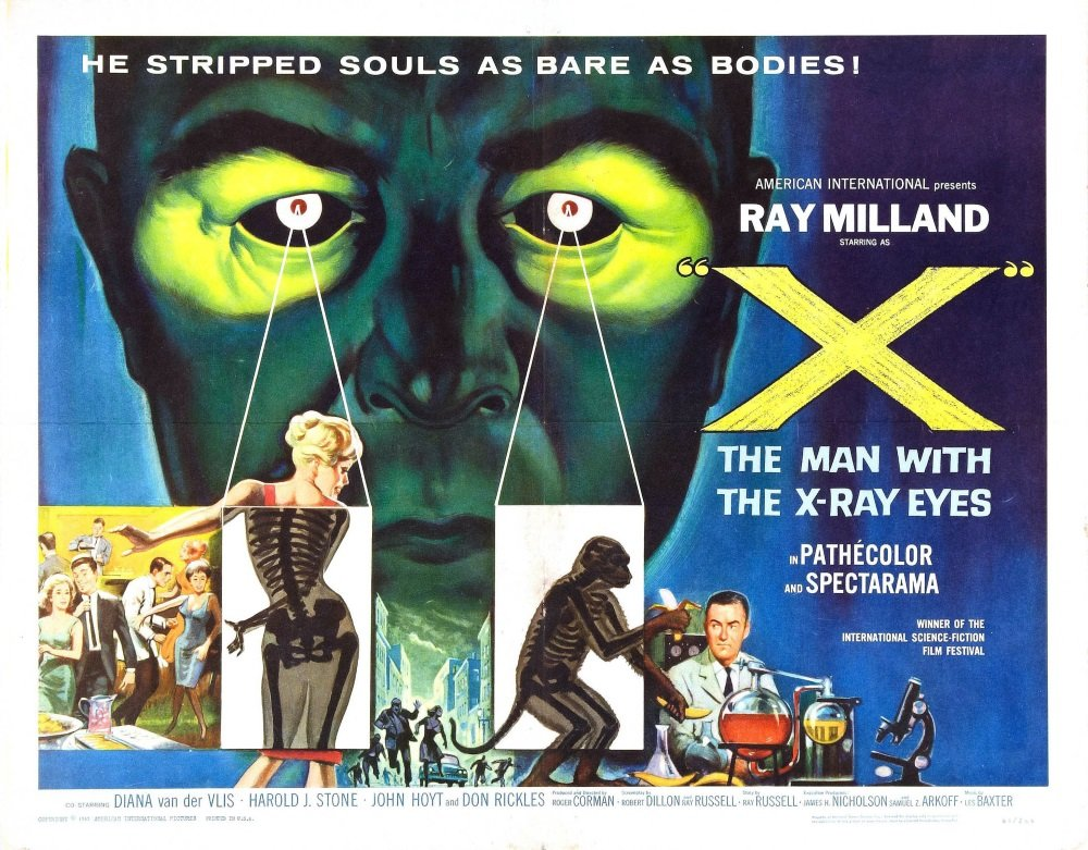Ray Milland stars in Roger Corman's 'Premature Burial' and 'X: The Man with the X-Ray Eyes'