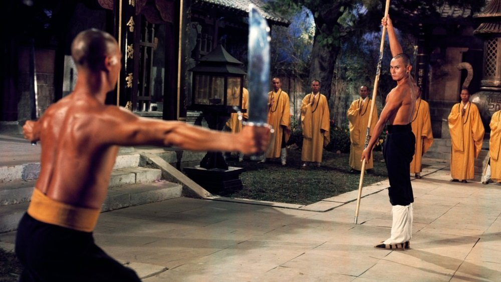 Gordon Liu in Liu Chia-Liang's martian arts cult classic 'The 36th Chamber of Shaolin'