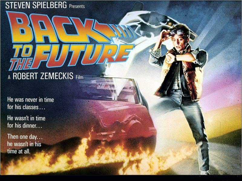 'Back to the Future' and its sequels with Michael J. Fox and Christopher Lloyd