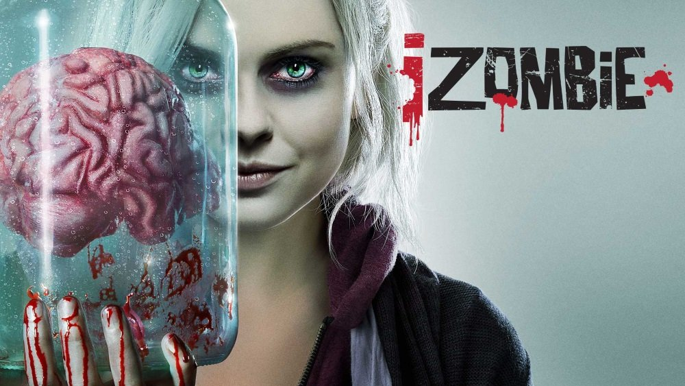 Rose McIver is an undead detective in 'iZombie'
