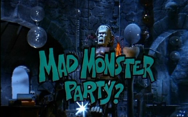 'Mad Monster Party?' from Arthur Rankin and Jules Bass is an animated monster movie spoof. With songs!