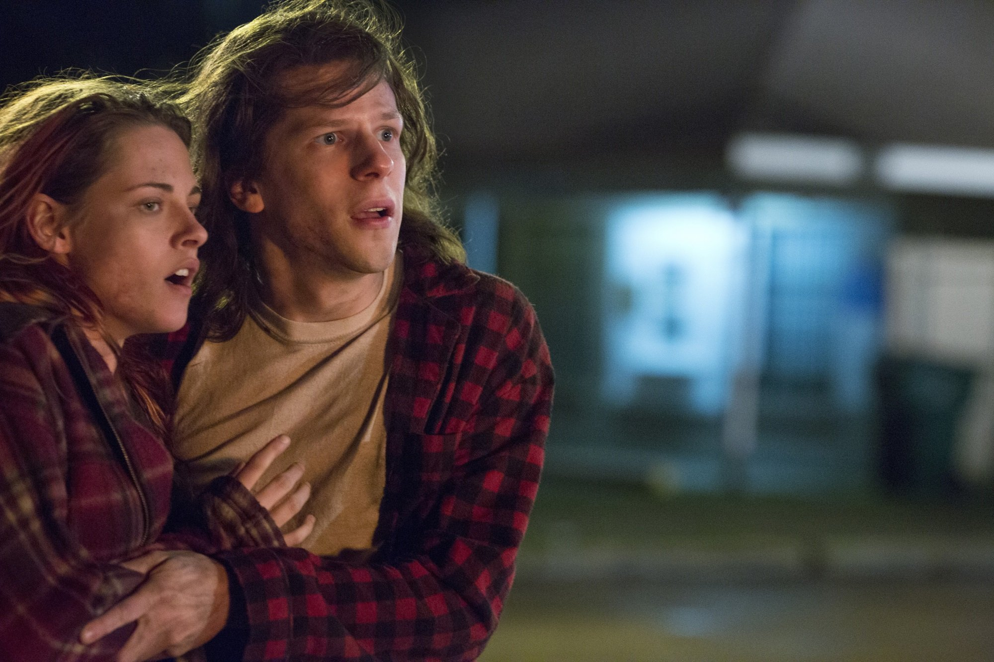 Kristen Stewart and Jesse Eisenberg in 'American Ultra.' Photo credit: Lionsgate