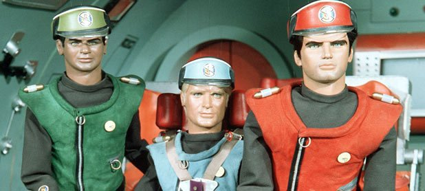 The Supermarionation stars of Gerry and Sylvia Anderson's 'Captain Scarlet & the Mysterons'