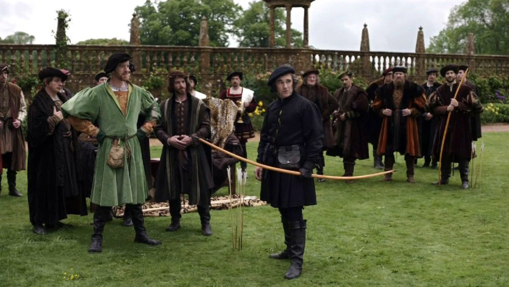 Damian Lewis and Mark Rylance as Henry VIII and Thomas Cromwell in the BBC miniseries 'Wolf Hall'