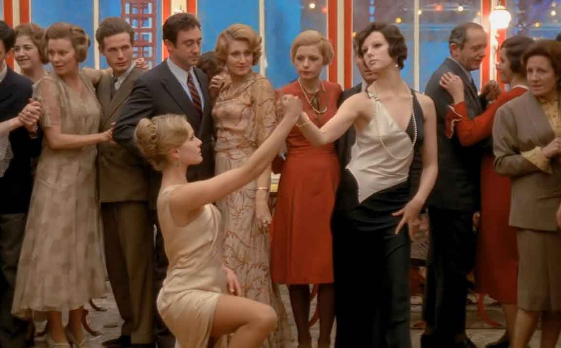 Dominique Sanda and Stefania Sandrelli in Bernardo Bertolucci's 'The Conformist' starring Jean-Louis Trintignant