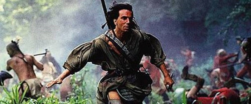 Daniel Day-Lewis is Hawkeye in 'The Last of the Mohicans' (1992), Michael Mann's muscular adaptation of James Fenimore Cooper's American classic.