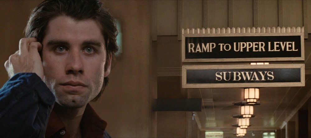 John Travolta in Brian De Palma's 'Blow Out'