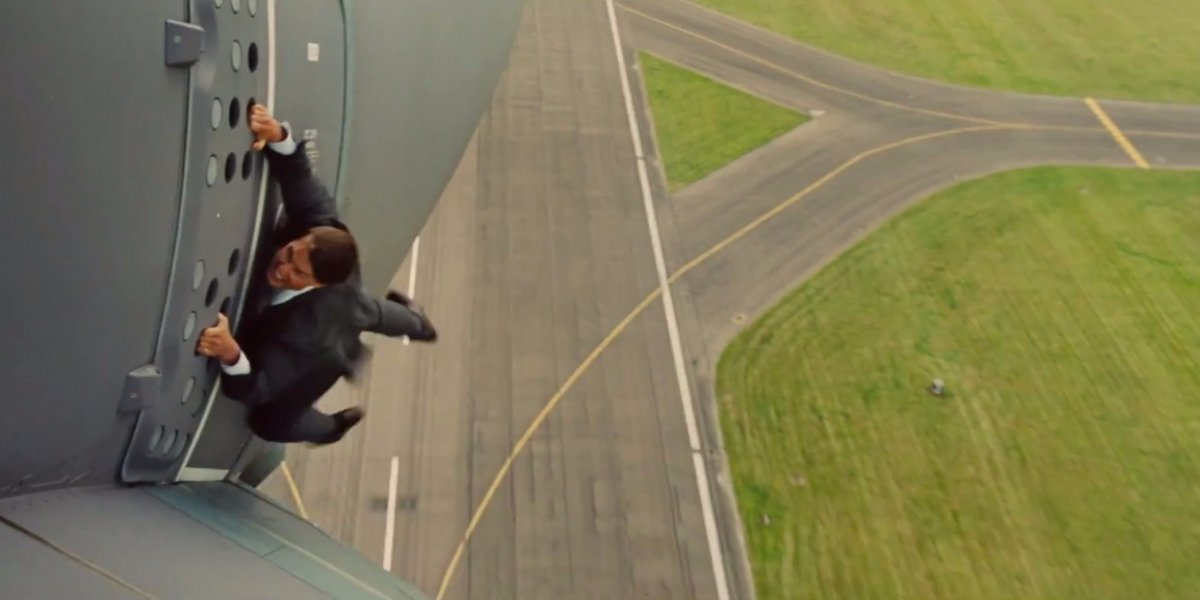 Tom Cruise stars in 'Mission: Impossible – Rogue Nation'