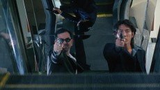 Anthony Wong and Francis Ng in Johnnie To's 'The Mission'