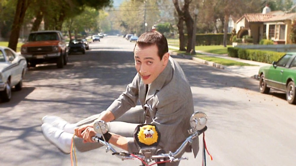 Paul Reubens is Pee-wee Herman in 'Pee-wee's Big Adventure.'