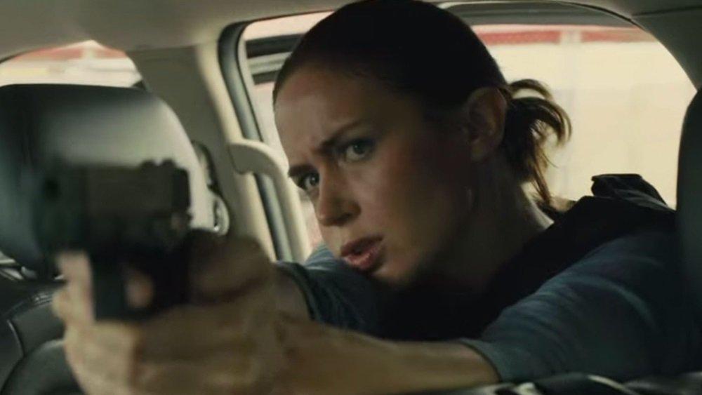 Emily Blunt stars in 'Sicario,' a vivid, volatile thriller directed by Denis Villeneuve