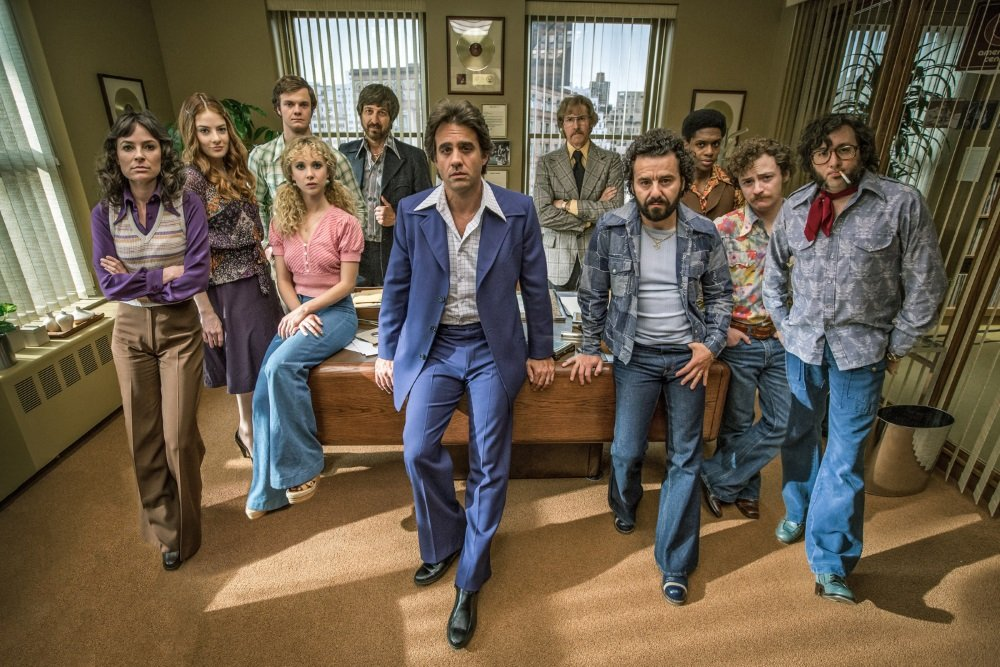 The cast of HBO's 'Vinyl,' produced by Martin Scorsese and Mick Jagger