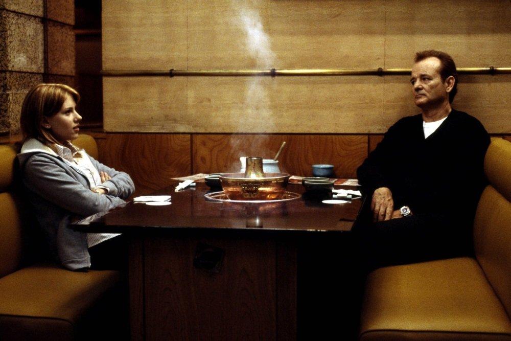 Scarlett Johansson and Bill Murray in Sofia Coppola's 'Lost in Translation'