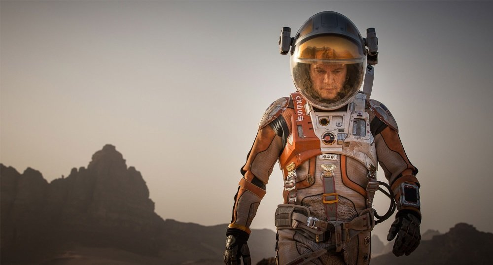 Matt Damon is 'The Martian' in the science fiction drama directed by Ridley Scott