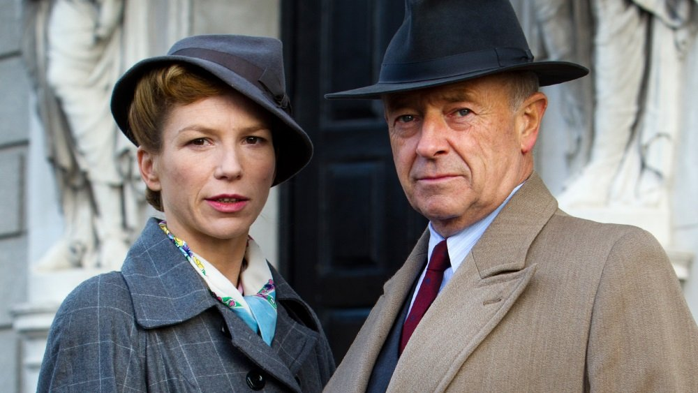 Honeysuckle Weeks and Michael Kitchen in 'Foyle's War.'