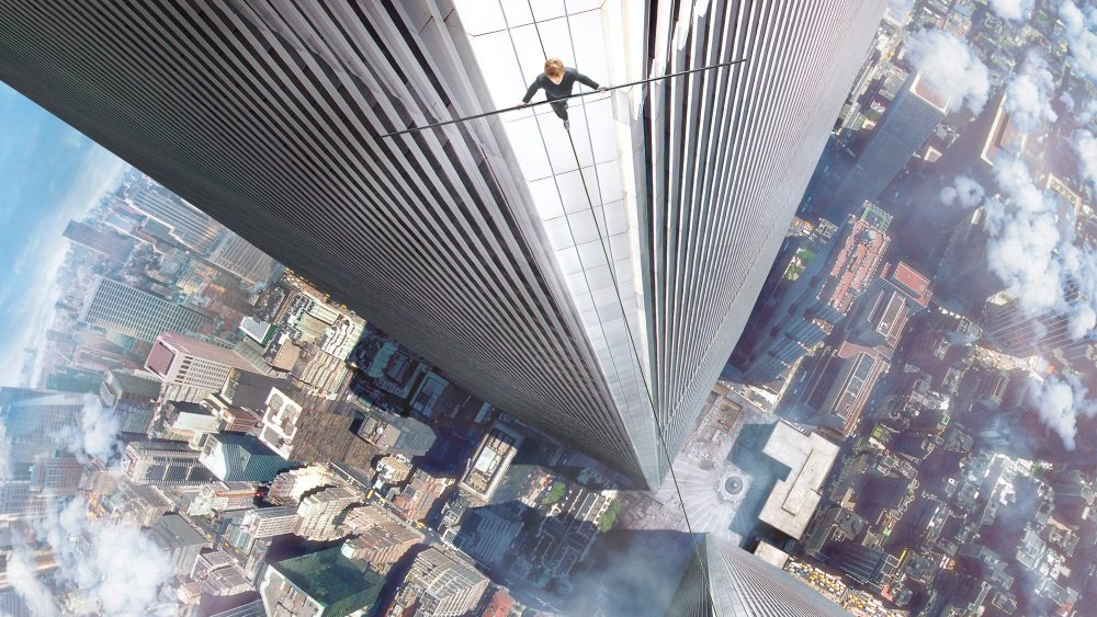 Joseph Gordon-Levitt is Philippe Petit in Robert Zemeckis's 'The Walk.'