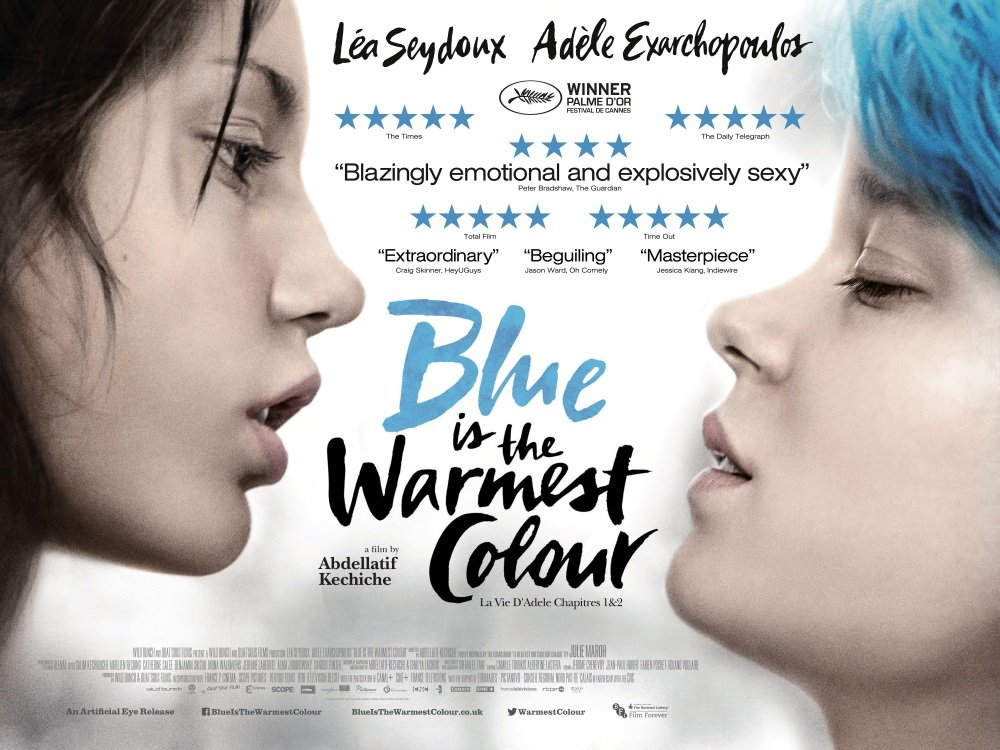 Adèle Exarchopoulos and Léa Seydoux star in 'Blue is the Warmest Color,' directed by Abdellatif Kechiche
