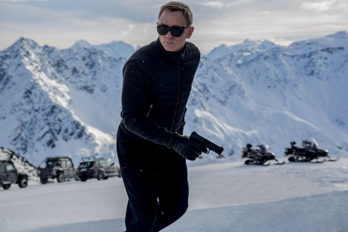 Daniel Craig is James Bond in 'Spectre'