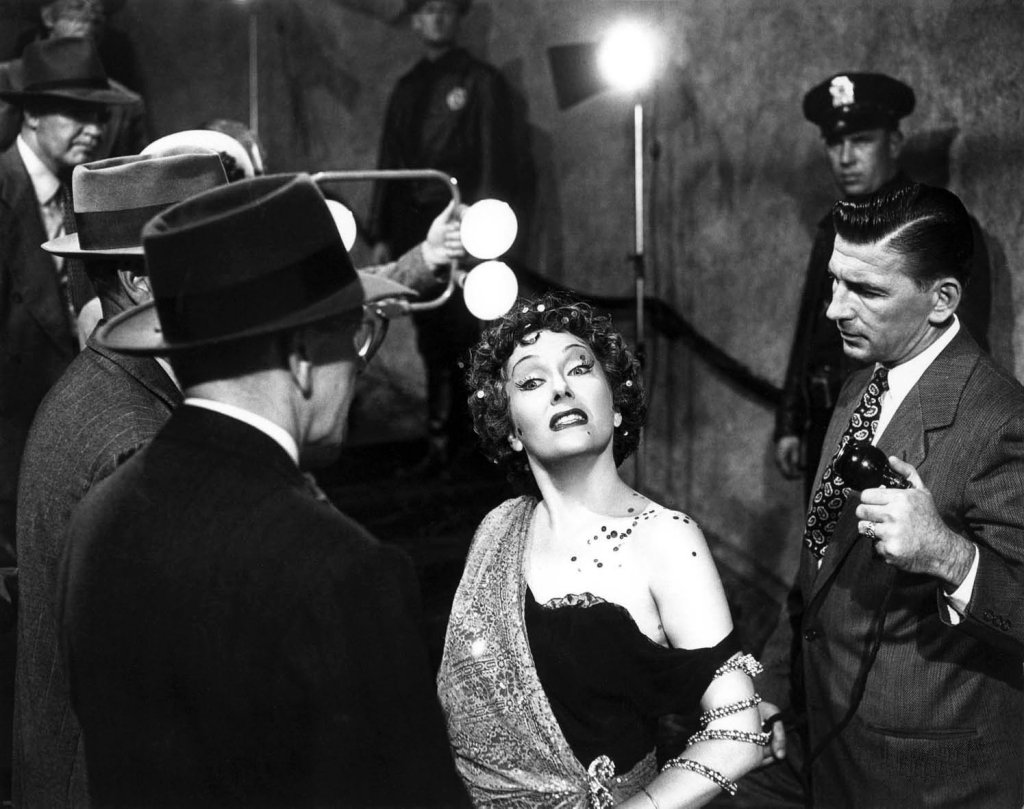 Gloria Swanson in 'Sunset Boulevard.'