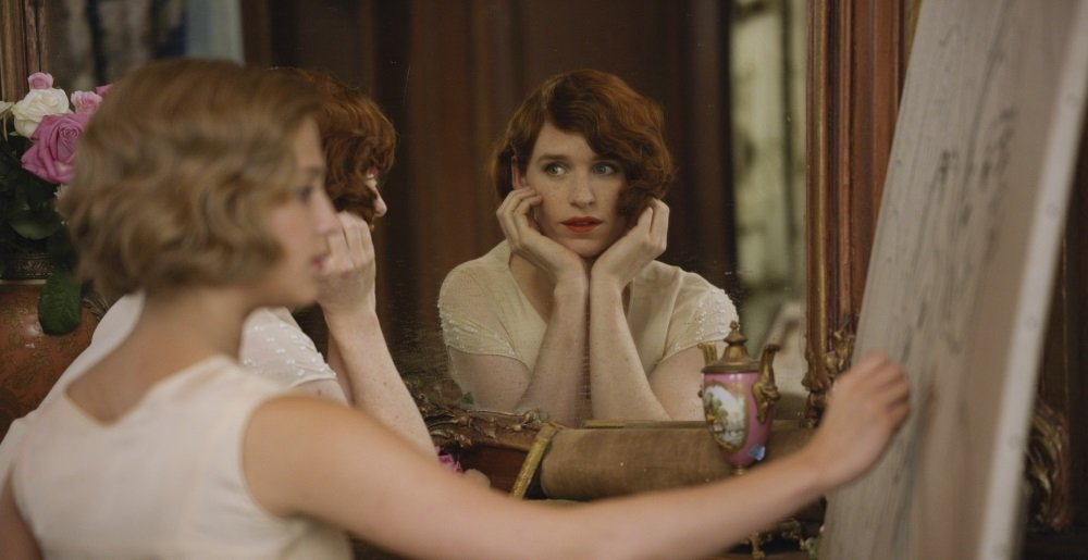 Eddie Redmayne stars as Lili Elbe, in Tom Hooper's THE DANISH GIRL, released by Focus Features.