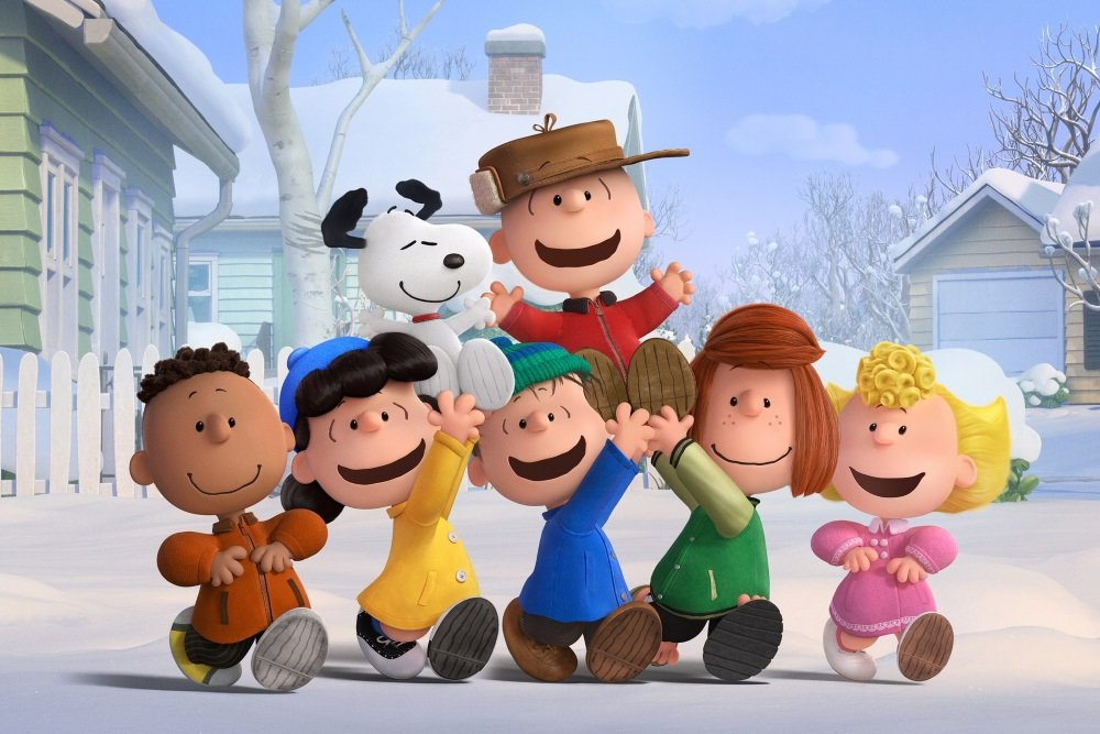Charlie Brown and the gang in 'The Peanuts Movie.'
