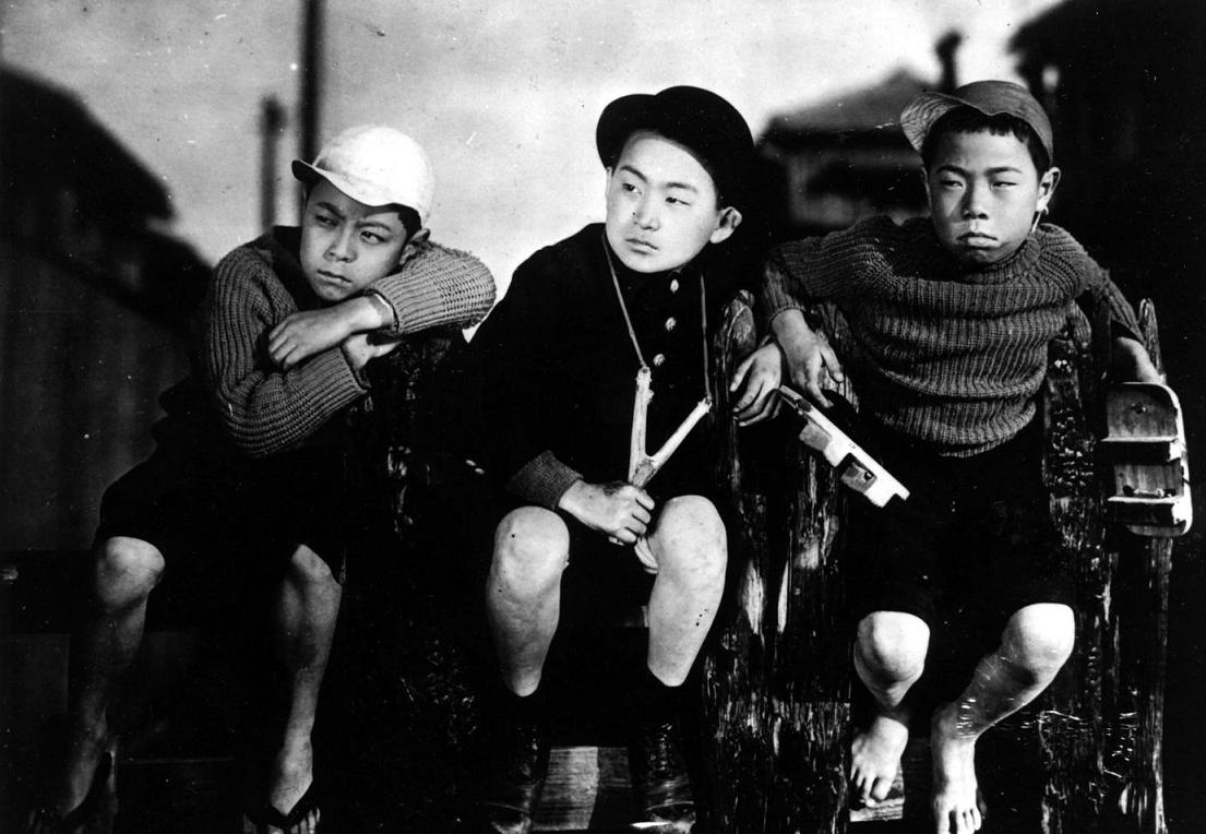 Yasujiro Ozu's 1932 silent family comedy 'I Was Born But.'