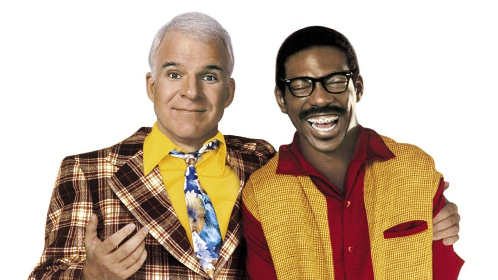 Steve Martin and Eddie Murphy just want to put on a picture show in the affectionate Hollywood lampoon written by Martin and directed by Frank Oz.