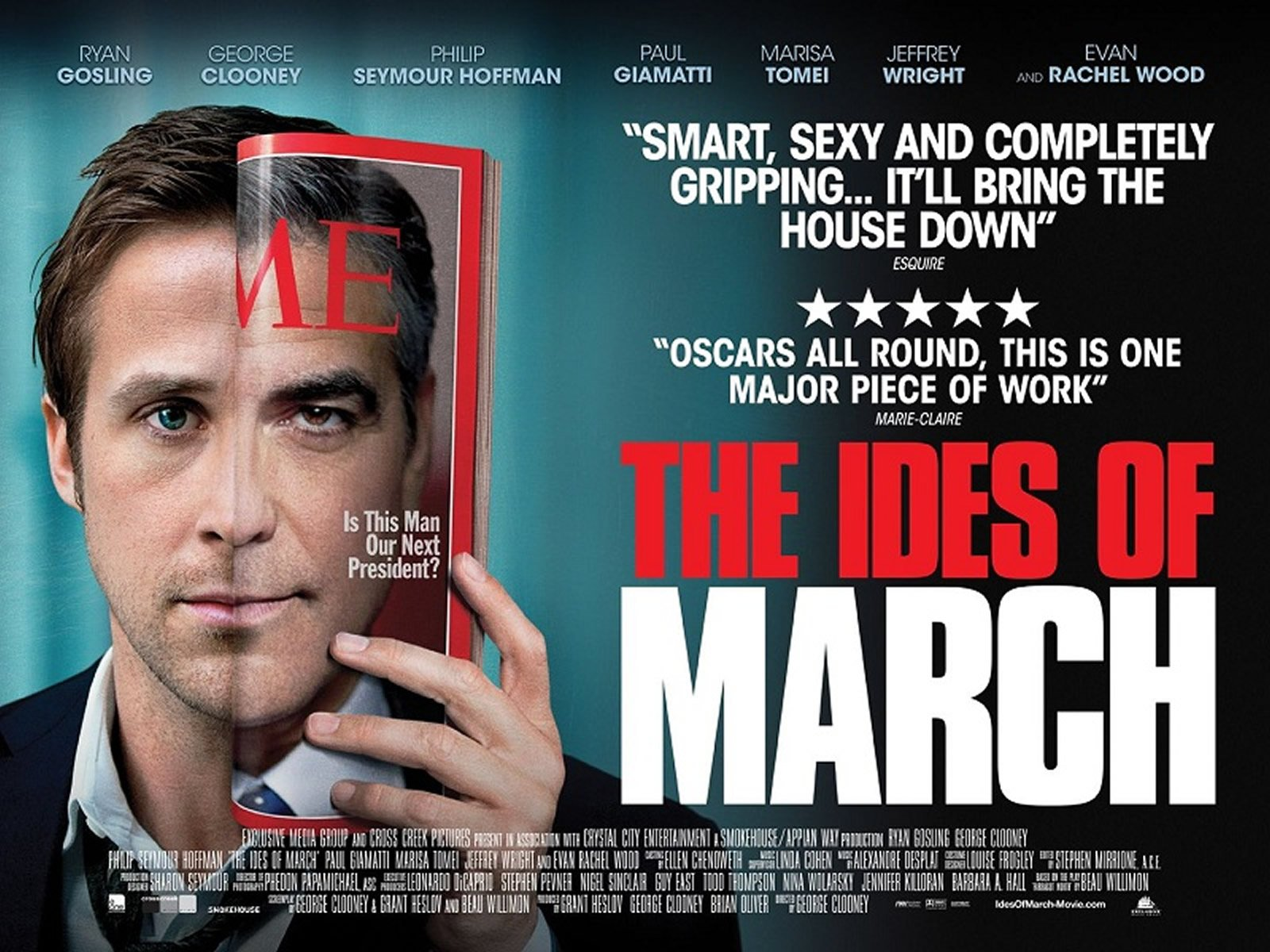 Ryan Gosling and George Clooney star in 'The Ides of March'