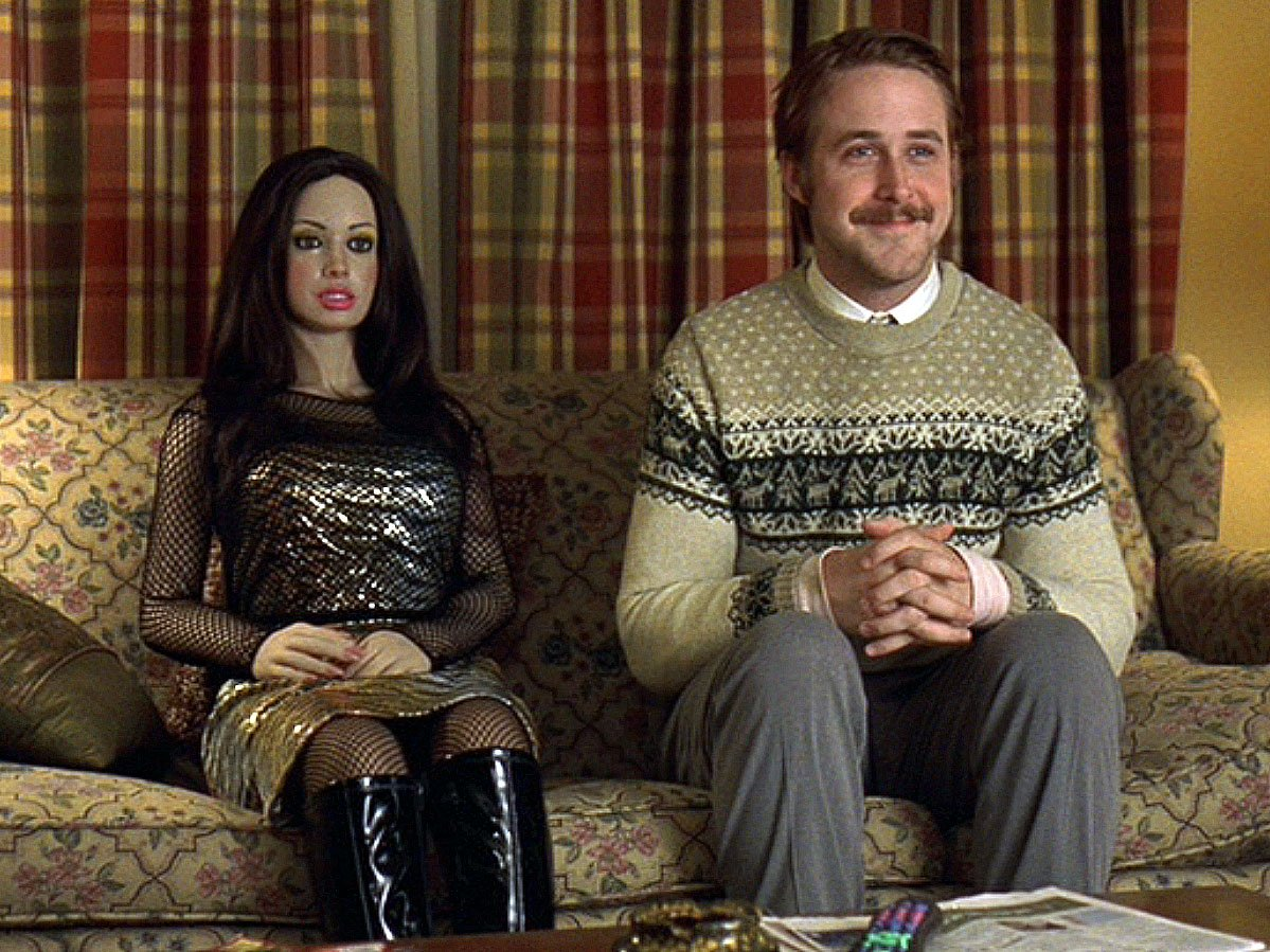 Ryan Gosling and friend in 'Lars and the Real Girl,' directed by Craig Gillespie.