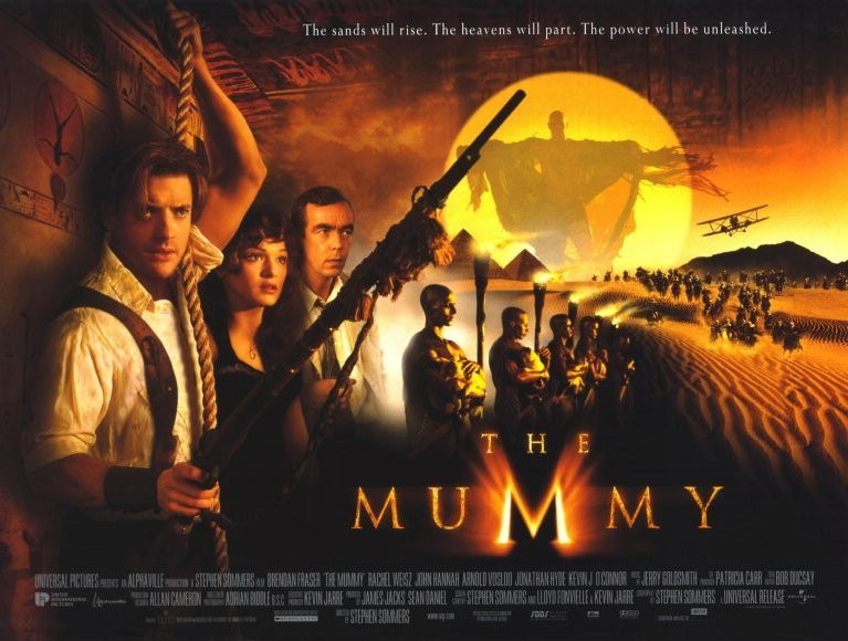 Brendan Fraser and Rachel Weisz star in Stephen Sommers' 1999 'The Mummy' and the sequel 'The Mummy Returns'