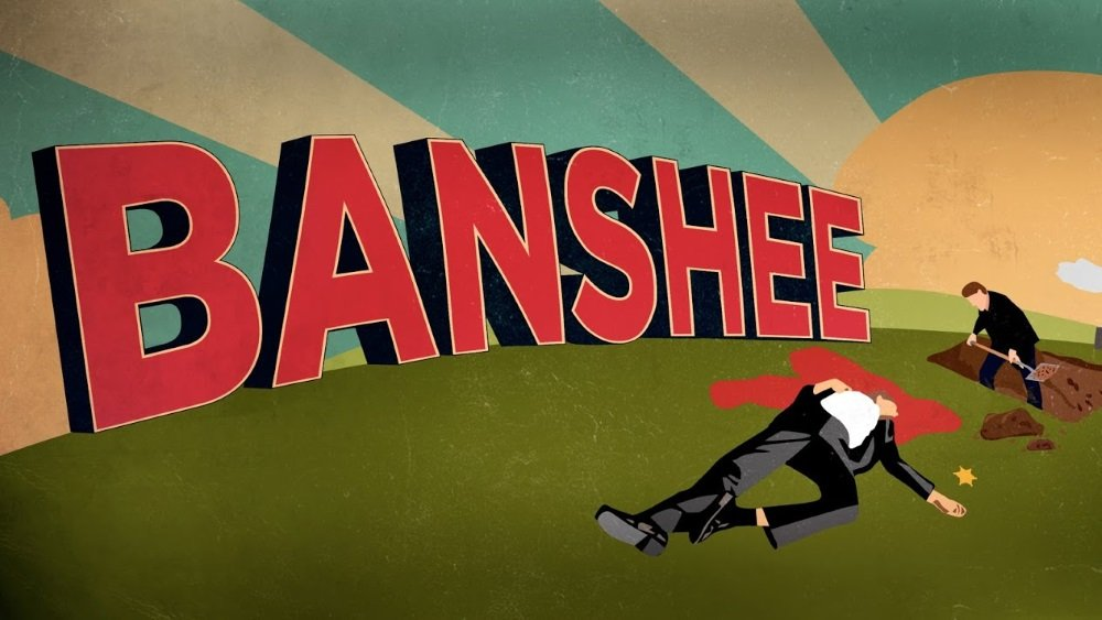 Antony Starr and Ivana Milicevic star in the Cinemax series 'Banshee'