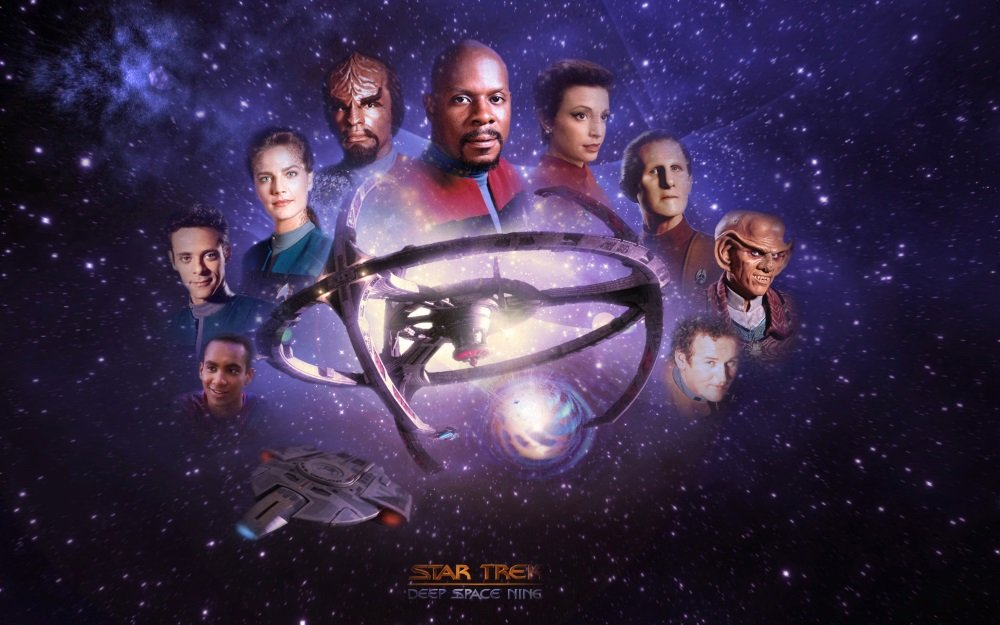 Avery Brooks takes command of the third 'Star Trek' TV series 'Deep Space Nine.' Seven seasons available.