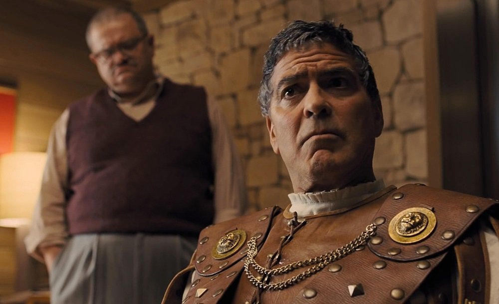 George Clooney in 'Hail, Caesar!,' the loving Hollywood studio satire from Joel and Cthan Coen.