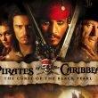 Johnny Depp, Keira Knightley, Orlando Bloom, and Geoffrey Rush help transform a theme park ride into a blockbuster pirate movie.