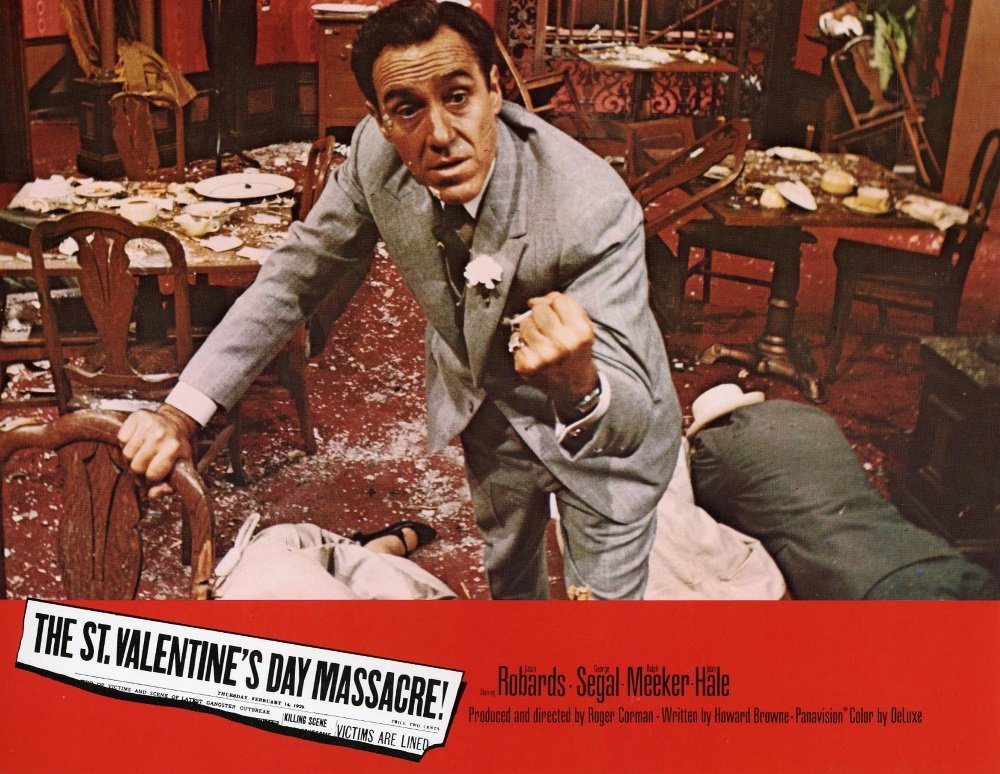 Jason Robards is Al Capone in Roger Corman's 'St. Valentine's Day Massacre